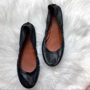 Lucky Brand Emmie Flats Ballet Flats Leather Shoe